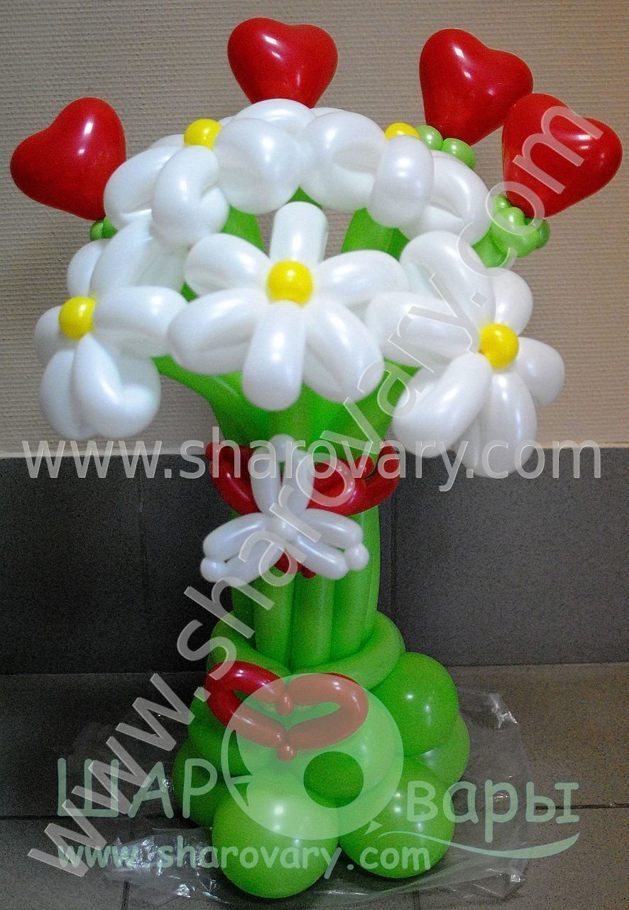 Фото фигурки из шаров своими руками на день рождения